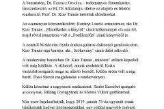 Budapest 2018.03.23. Folyóirat-, könyvbemutató és kiállítás